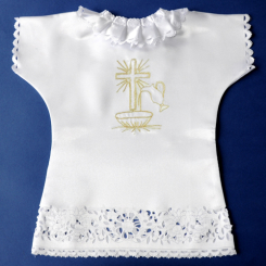 1.1.10.ZL  Christening robe - shirt